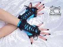 handschoenen zonder vingers, pols warmers 1040