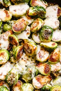 Sauteed Brussel Sprouts with Cheese   – Chicken recipes