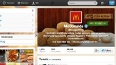 PHOTO: On Feb. 18, 2013 Burger King's Twitter account was hacked to look like McDonald's.