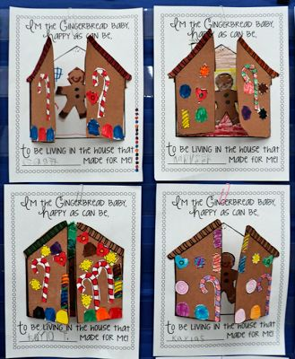 Craftivity to Go With Book, Gingerbread Baby by Jan Brett (from Grade ONEderful)
