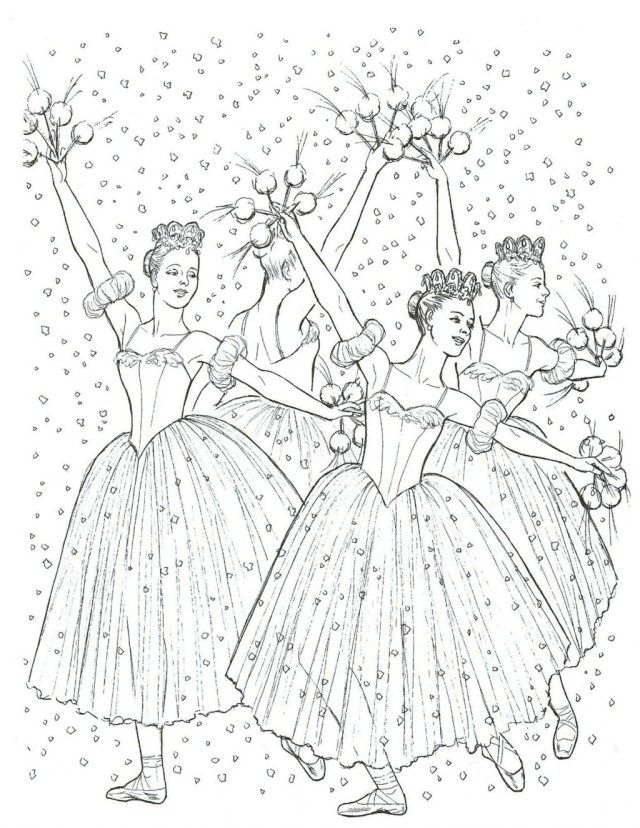 Free Coloring Pages Nutcracker Tips