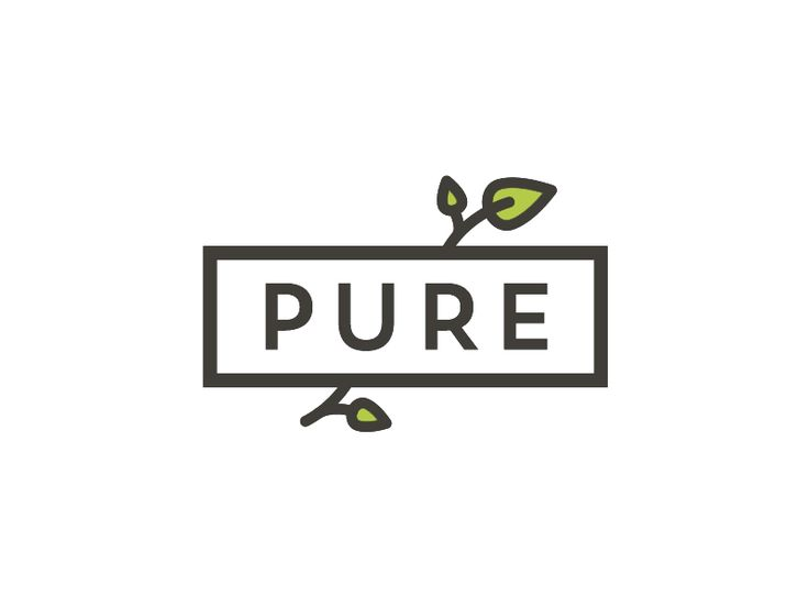 Pure Cafe Logo by Pumpkin Juice