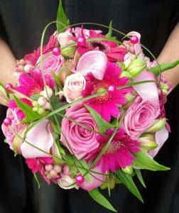 bruidsboeket www.flamingobloemen.nl