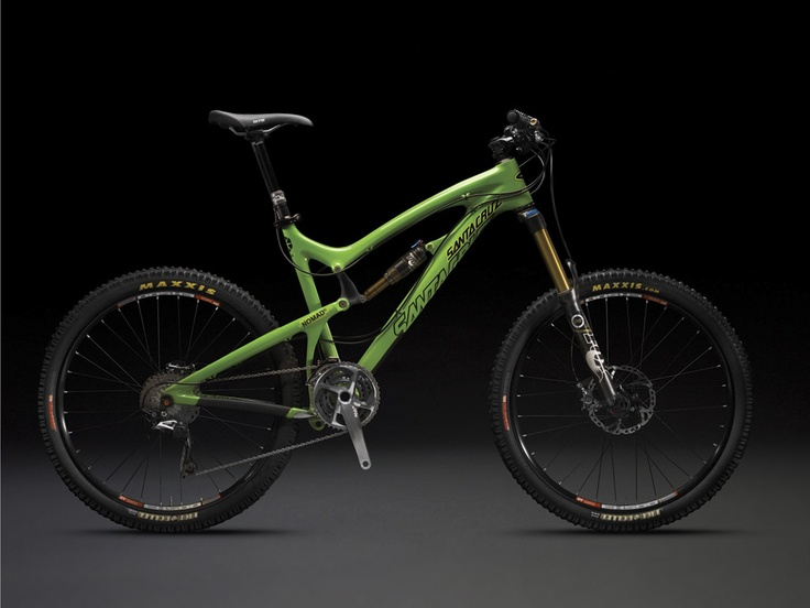 Santa Cruz Nomad Carbon... I want a trail bike in addition to my downhill and XC more than anything. I just need that ca$h