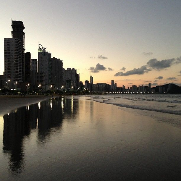 Praia Central de Balneário Camboriú - SC