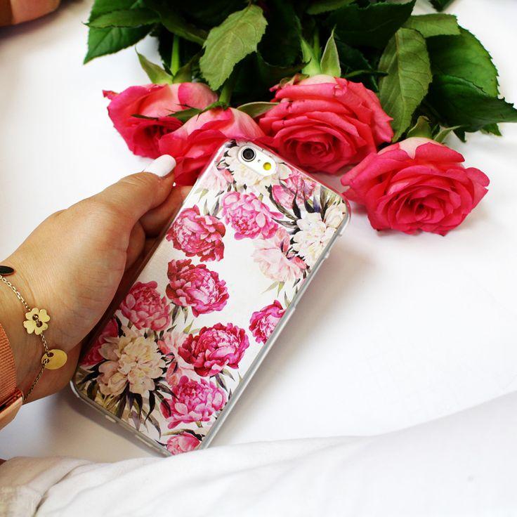 Piwonie na etui do telefonu http://www.etuo.pl/etui-na-telefon-kolekcja-floral-case.html