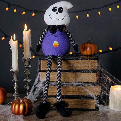 Abucheo del fantasma de Halloween Sitter