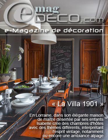 Couverture Du Magazine De Décoration E MagDECO
