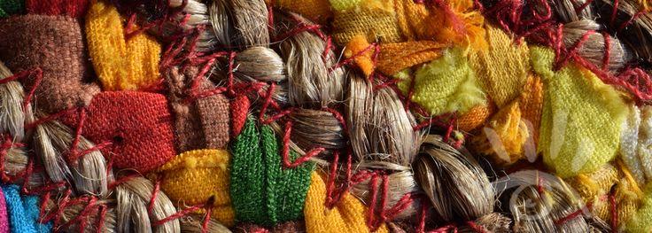 Macro opname van een deel van een Spaanse / Mexicaanse hoed.