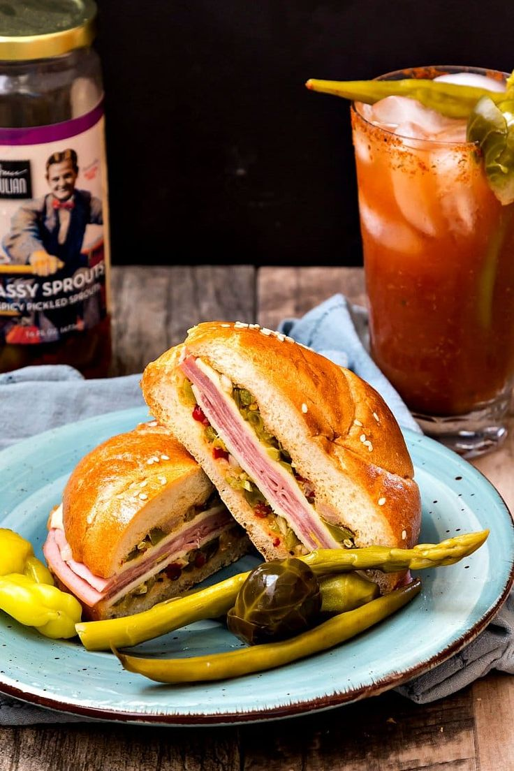 Make this tasty North Carolina Muffaletta for your next tailgating party or picnic. You'll love the zing Bruce Julian brings to the table! #homegrownfare17
