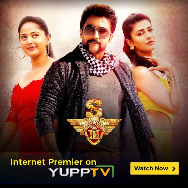 Watch Tamil blockbuster movie #Singam3 now available on YuppTV.