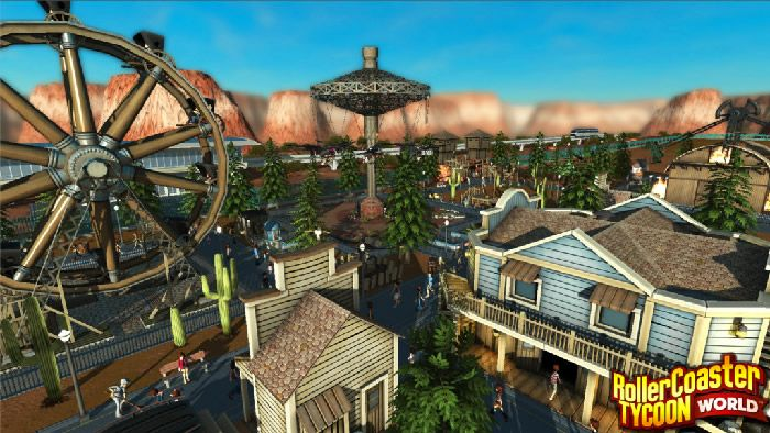 RollerCoaster Tycoon World News - First RollerCoaster Tycoon World Screenshots And Gameplay Details Revealed