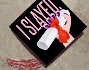 Graduation Cap Decal for College Graduation by specialgradcapdecor