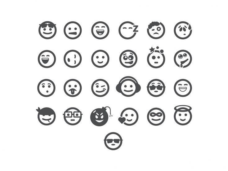 Emoticons Vector Icon - ICON - Symbols  Signs : LogoWik.com