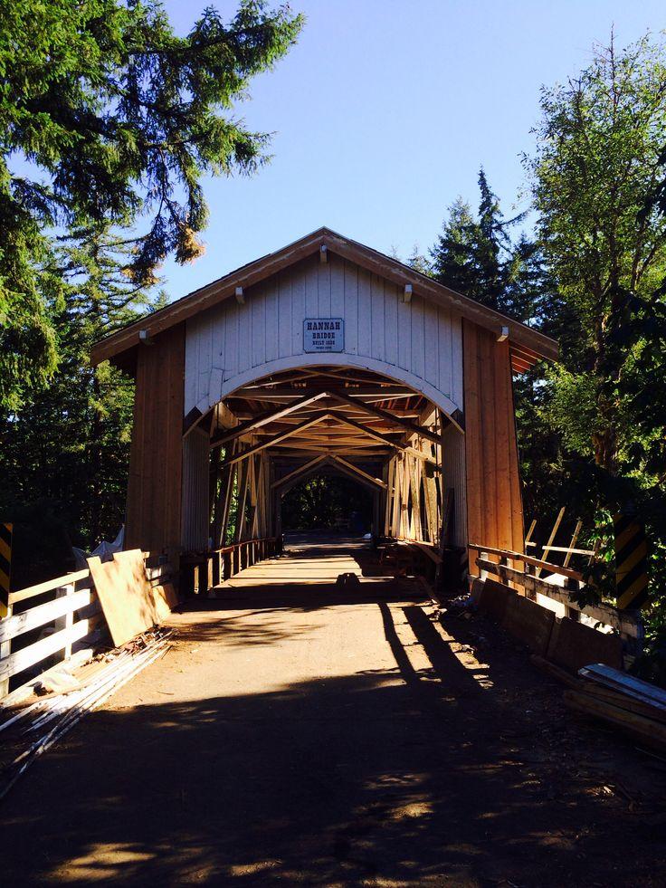 Hannah Covered Bridge, Scio, OR