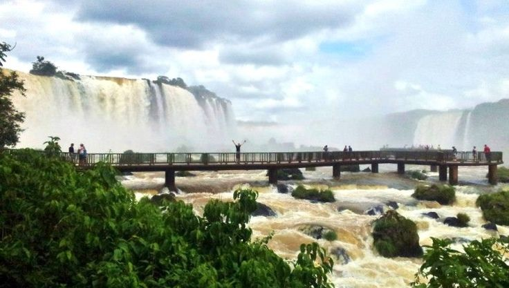 Puerto iguazu in Argentina/Brazil #travel