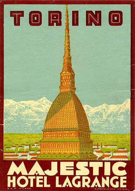 17 best images about italian poster art on pinterest for Designhotel turin