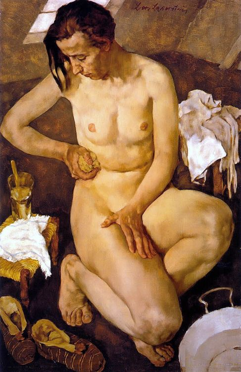 Morning Toilette, Lotte Laserstein - #Art #LoveArt http://wp.me/p6qjkV-ew1