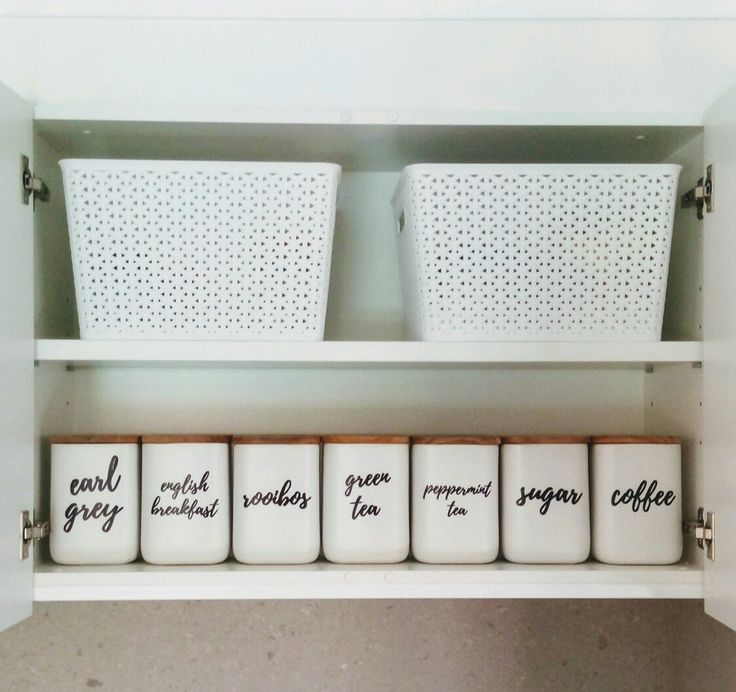 Kitchen labels, pantry labels, kitchen storage,