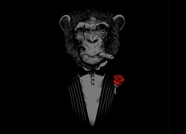 """""""Monkey Business"""" - Threadless.com - Best t-shirts in the world"""