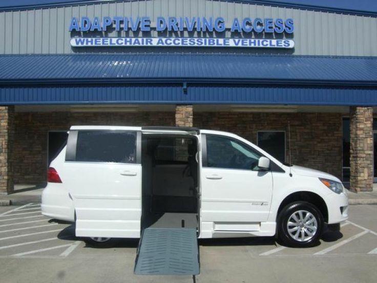 2012 Volkswagen Routan Se Wheelchair Van For Sale Pasadena Texas | Adaptive Driving Access - Pasadena