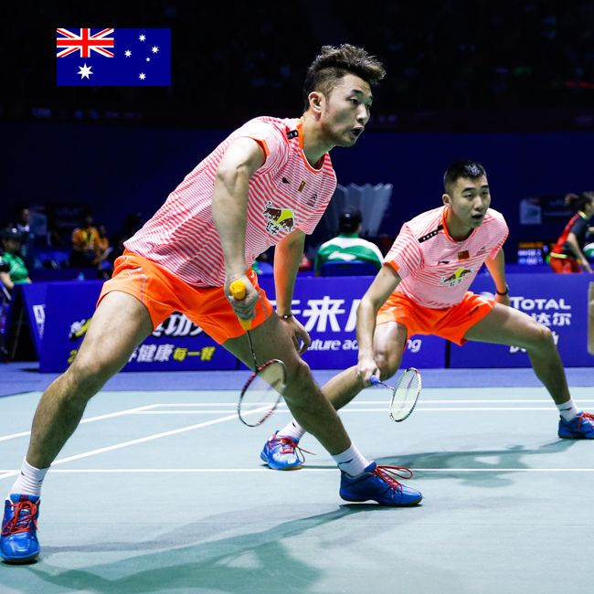 DOMINATING DOUBLES! Chai Biao and Hong Wei played through compatriots FHF and ZNan to advance to the semi-finals of the MD event at the Australian Open. With three Li-Ning dominating teams now in the semi's, SILVER is a given and GOLD is within reach! www.shopbadmintononline.com Be Bold | Achieve More #MakeTheChange!