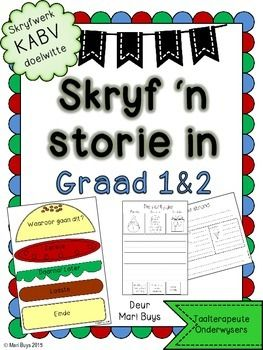 Leer jou kinders om 'n storie te skryf! Tien eenvoudige stories met prentjies…