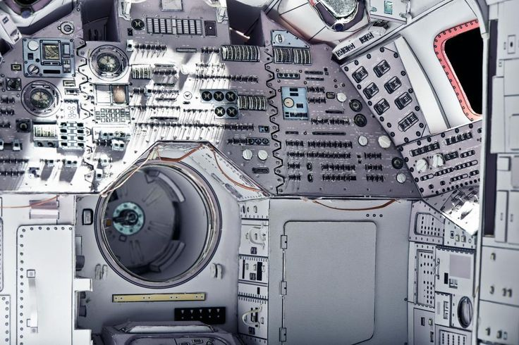 Apollo command module - 1:12 - Page 41 - PaperModelers.com