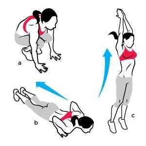 痩せる筋トレ バーピーの効果が凄すぎる!全身運動 !超短期集中ダイエット - NAVER まとめ