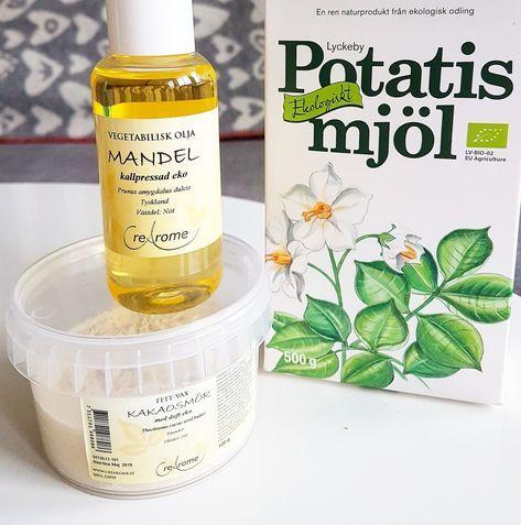 Det är enkelt att göra sin egen hudkräm. Det här receptet på body butter än min personliga favorit. Det är en riktigt härlig kräm som återf...
