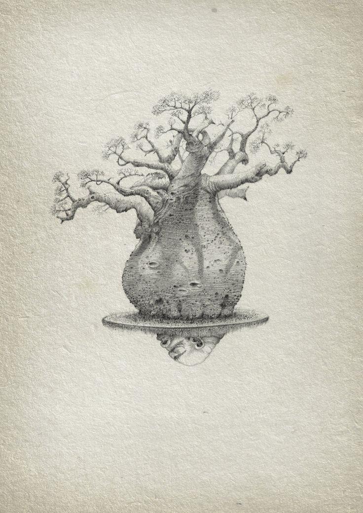 Baobab by aleks-klepnev.deviantart.com on @DeviantArt