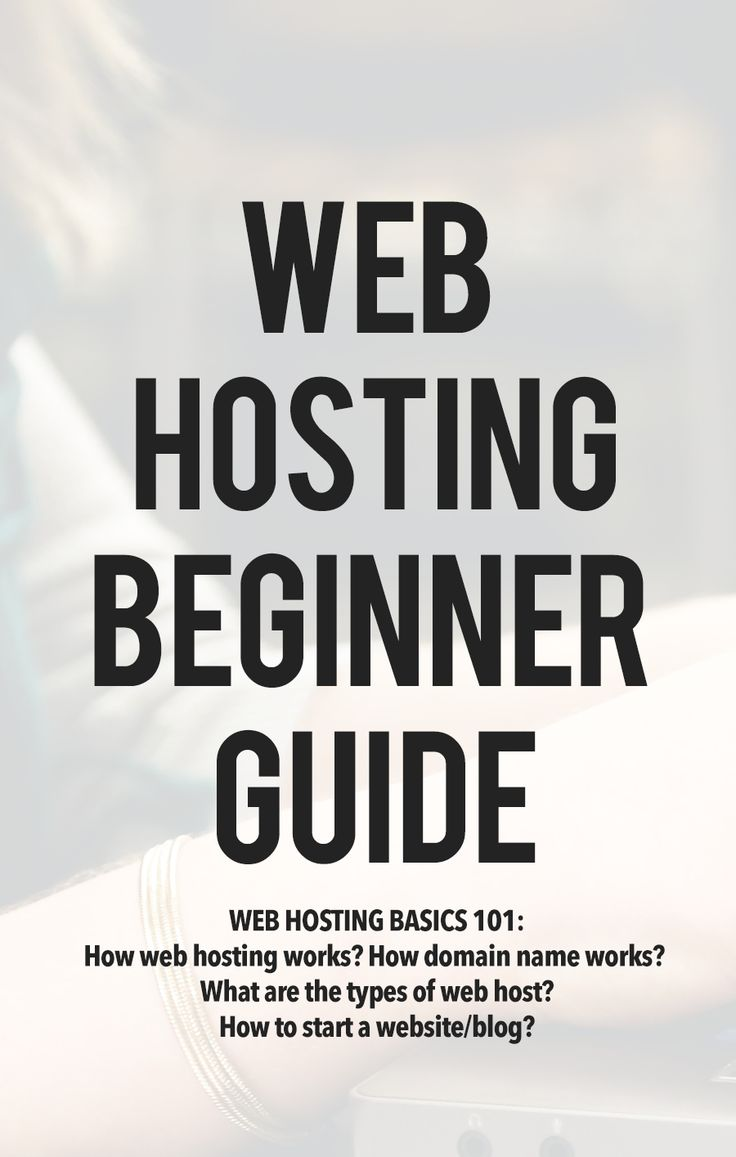 Web Hosting Basics 101: Learn how web hosting works, how domain name works, types of web host and how to start a website or a blog.