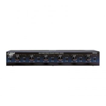Pyle 6 Channel High Power Stereo Speaker Selector W/Volume Control - myaccessoryguy