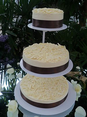 Cheesecake Wedding Cake. Cause I don't really care for wedding cake.