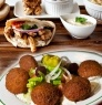 Shawarma or Falafel Plates: A) $9 for 2 Large Plates ($22 Value) OR B) $15 for Two Large Plate Combos!