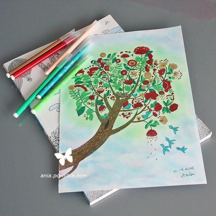 """#Koloruję niemal na okrągło. To już #nałóg... #kolorowanka #wyspy #kolorowanki #kolorowankidladorosłych #coloringbook #coloringbooksforadults #antistress…"""