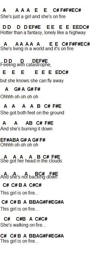 Flute Sheet Music: Alicia Keys