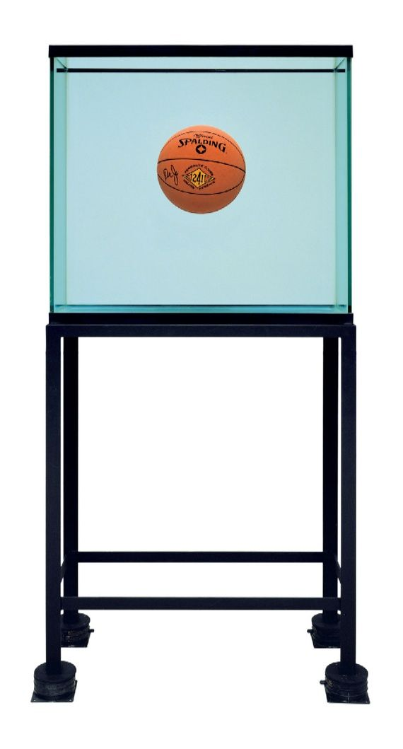 Jeff Koons One Ball Total Equilibrium Tank  (Spalding Dr. J 241 Series), 1985
