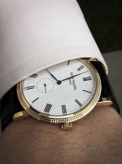 Patek Philippe - a classic timepiece - Patek Philippe /patekphilippe  $18,700 yellow gold 36mm
