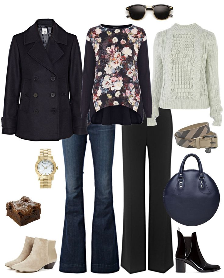 Flared Legs with Trendy Tops