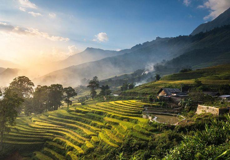 Rismarker er der mange af i Vietnam, og de allersmukkeste finder du i fortryllende Sapa!