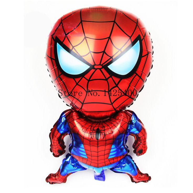 Купить товарНовый фильм шар игрушки стерео человек паук с днем рождения ну…