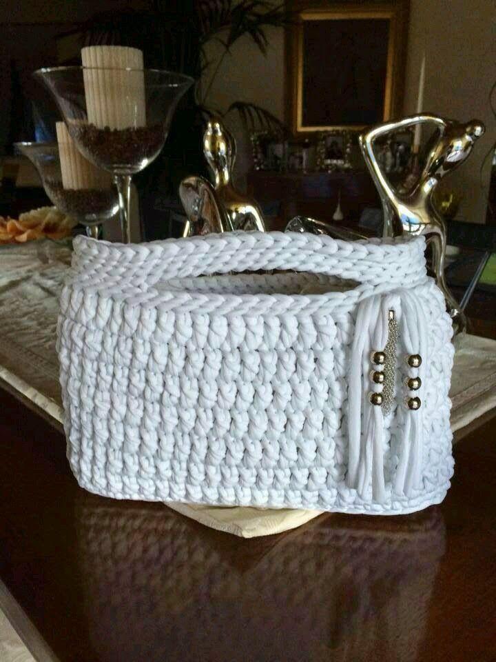 1000 ideas sobre carteras tejidas en pinterest carteras - Como hacer bolsos tejidos ...