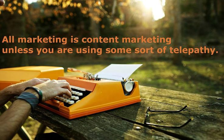 Content Marketing is the heart and soul of any marketing campaign. If you don't get it right, nothing else will.