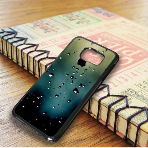 Window Rainy Apple Samsung Galaxy S6 Edge Plus Case