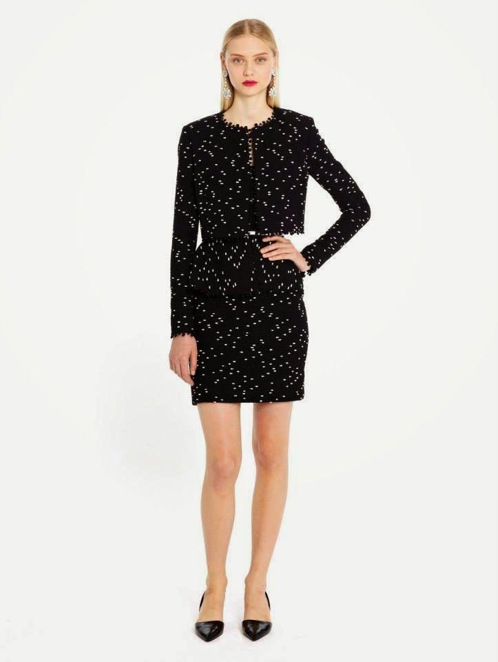 Western Dress For Women 2014-2015 By Oscar De La Renta | New Party Wear Dresses