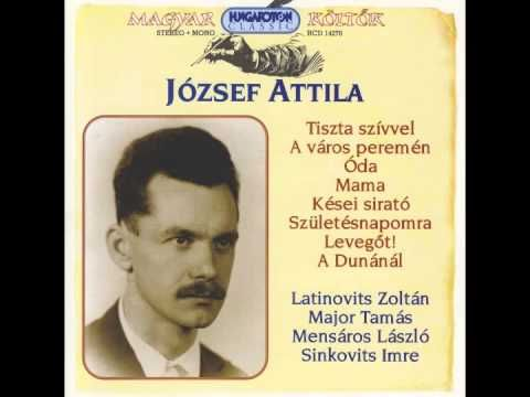 Latinovits Zoltán -József Attila- Kései sirató