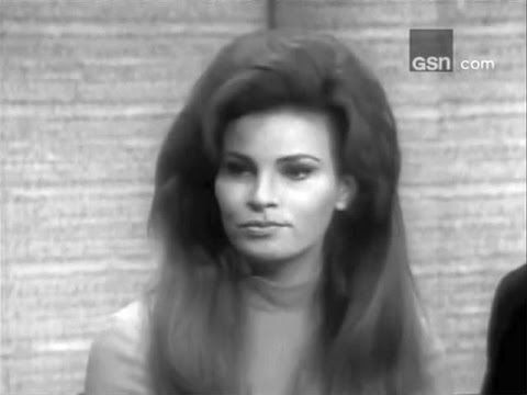 What's My Line? - Raquel Welch; PANEL: George Grizzard, Phyllis Newman, Tony Randall (Apr 30, 1967) - YouTube