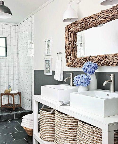 Bathroom Mirrors Coastal 267 best driftwood crafts & decor images on pinterest   driftwood