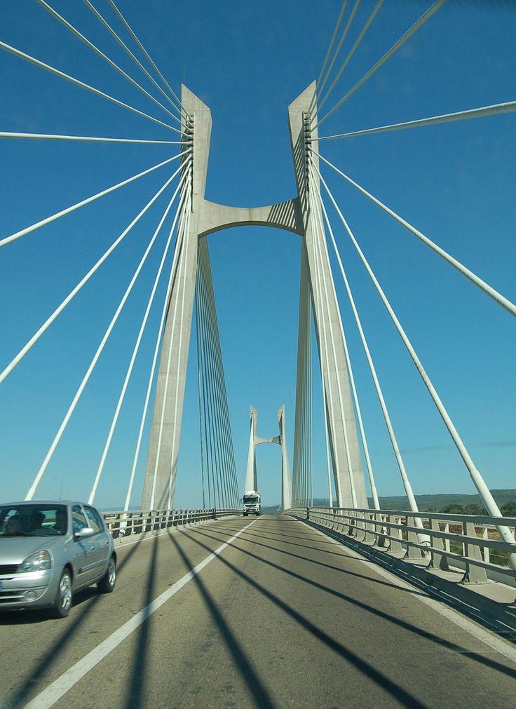 Pont-de-Tarascon-Beauclaire, Rhône river, Tarascon + Beauclaire, France